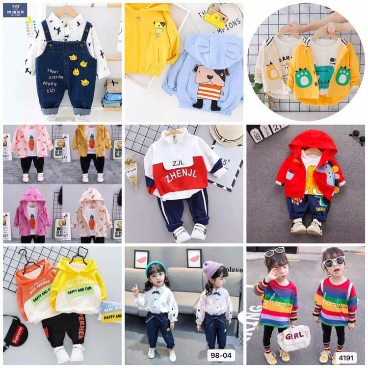 فروش انواع لباس کودک